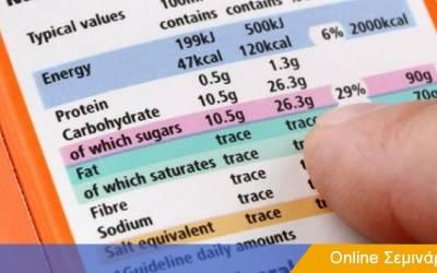 Εξαγωγή στις ΗΠΑ-Πως κάνω εγγραφή στον FDA και πως πρέπει να είναι η ετικέτα τροφίμων-Online σεμινάριο