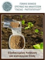Εξειδικευμένη Ανάλυση για καλλιέργεια Ελιάς