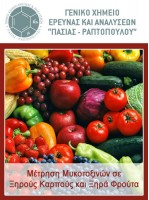 Μέτρηση Μυκοτοξινών σε Ξηρούς Καρπούς και Ξηρά Φρούτα
